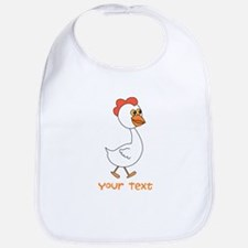 Chicken and Text. Bib