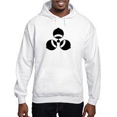Reverse Biohazard Hoodie