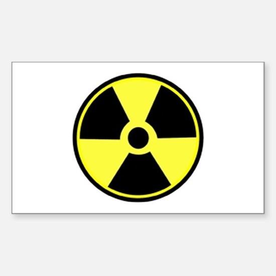 Radioactive Rectangle Decal