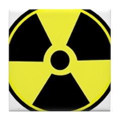 Big Radioactive Tile Coaster