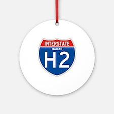 Interstate 2 - HI Ornament (Round)