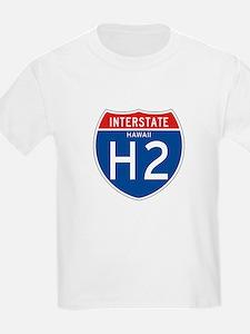 Interstate 2 - HI Kids T-Shirt