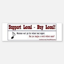 People Who Listen - Support Local Music Bumper Sti