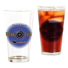 Daniel Amos - Motorcycle Drinking Glass