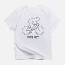 Cycling Design and Text. Infant T-Shirt