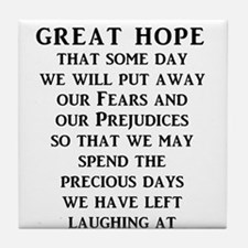 Our Great Hope Stupid People Funny T-Shirt Tile Co