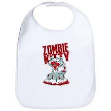 Zombie Kitty Bib