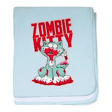 Zombie Kitty baby blanket