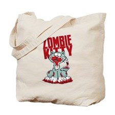 Zombie Kitty Tote Bag