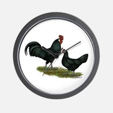 Augsburger Chickens Wall Clock