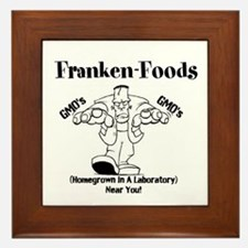 Franken-Foods Homegrown In A Lab Near You Framed T