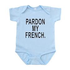 Pardon My French. Body Suit