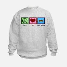 Peace Love Honey Badgers Sweatshirt