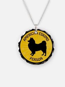 American Eskimo Person Necklace