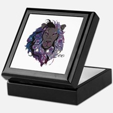 Starlight Leo Keepsake Box