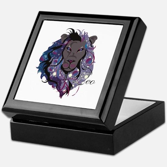 Starlight Leo Keepsake Box