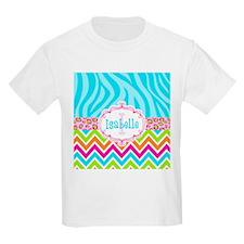 Bright Chevron Animal Print T-Shirt