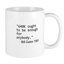 640K Bill Gates Small Small Mug