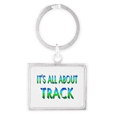 About Track Landscape Keychain