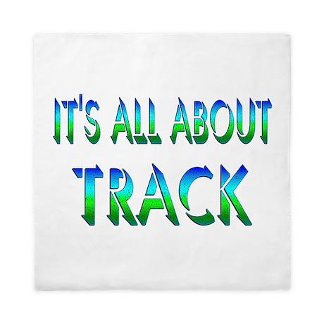 About Track Queen Duvet