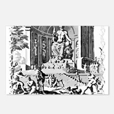 Statue of Zeus Postcards (Package of 8)