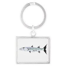 Great Barracuda fish Keychains