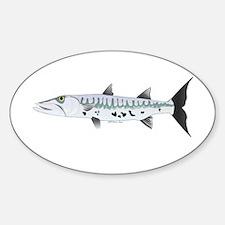 Great Barracuda fish Decal