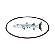 Great Barracuda fish Patches