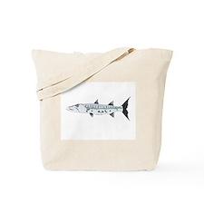 Great Barracuda fish Tote Bag
