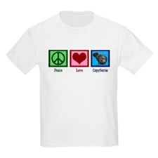 Peace Love Capybaras T-Shirt