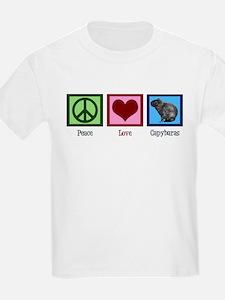 Peace Love Capybaras T-Shirt