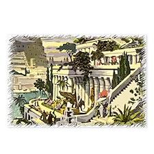 Hanging Gardens of Babylon Postcards (Package of 8