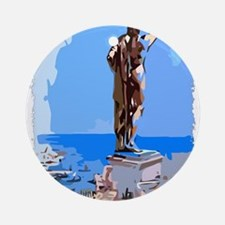 Colossus of Rhodes Ornament (Round)
