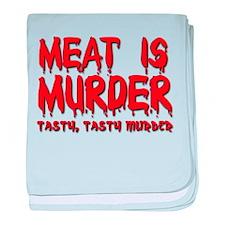 Meat is Murder Tasty Tasty Murder Funny T-Shirt ba