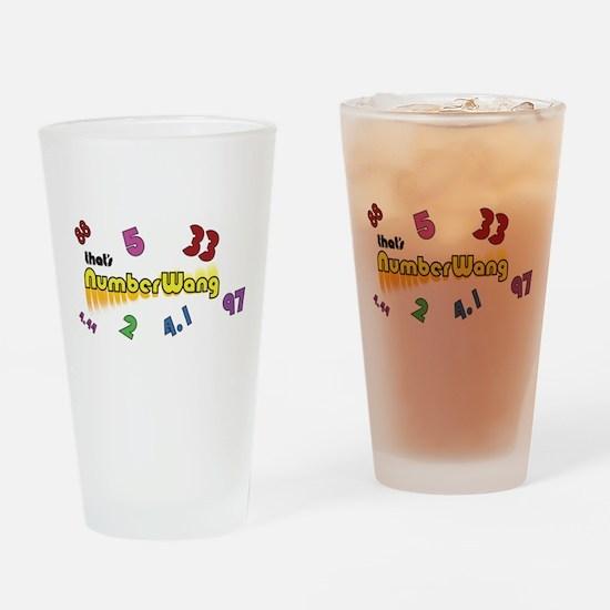 Numberwang ! Drinking Glass