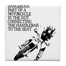 Dangerous Nut Dirt Bike Motocross Shirt Tile Coast