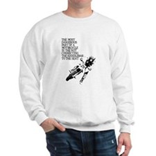 Dangerous Nut Dirt Bike Motocross Shirt Sweatshirt