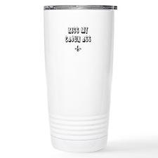 Kiss My Cajun Travel Mug