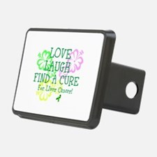 Love Laugh Cure Liver Hitch Cover