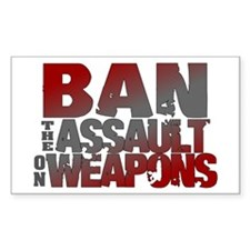 Ban Assault Weapons Decal