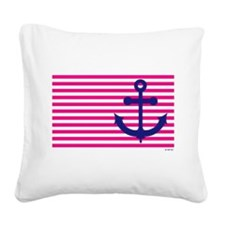 Anchors Away Flag w/Lilly Pulitzer Square Canvas P