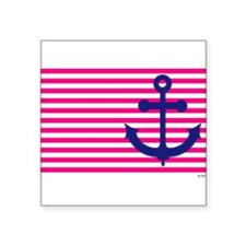 Anchors Away Flag w/Lilly Pulitzer Square Sticker