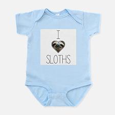 i love sloths Body Suit