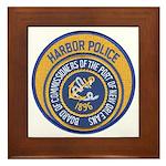 NOLA Harbor Police Framed Tile