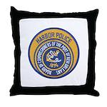 NOLA Harbor Police Throw Pillow