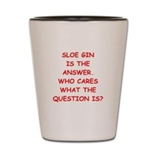 sloe gin Shot Glass