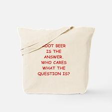 root beer Tote Bag