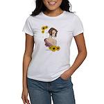 Anime style MediaMiner Sunflowers Women's T