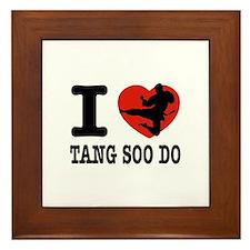 I love Tang Soo Do Framed Tile