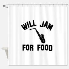 Will jam or play the Alto Saxophone for food Showe